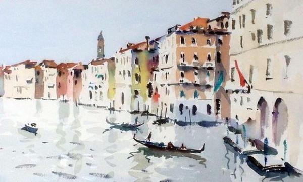 Jake Winkle - Venice From Rialto