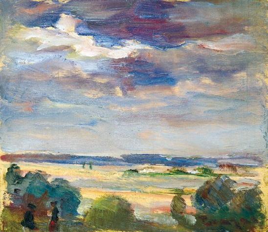 Janos Tornyai - Walk at dawn