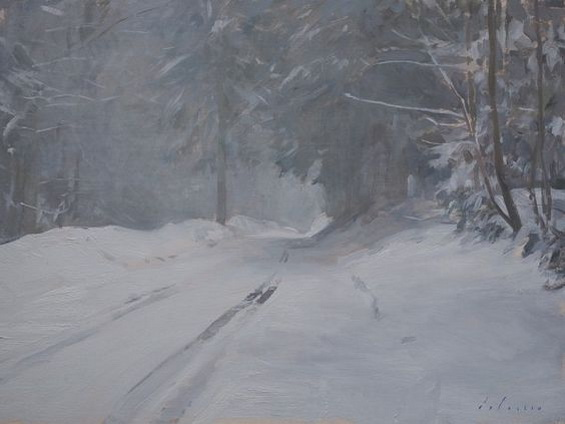 Marc Hanson - Snowy Road