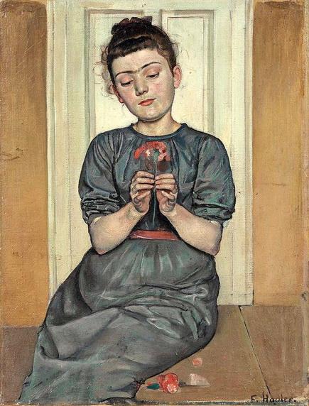 Ferdinand Hodler - Girl With Carnation