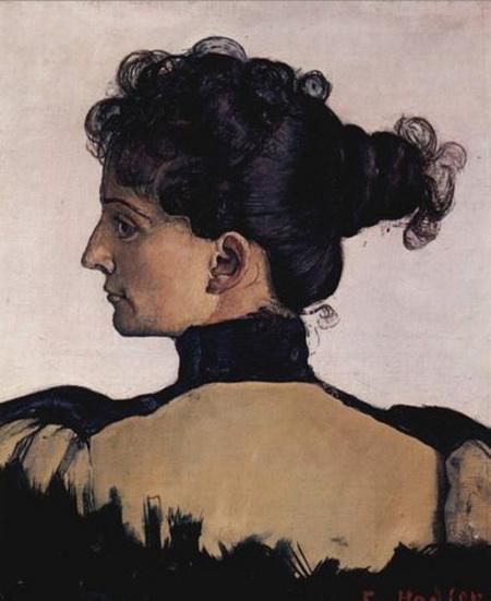 Ferdinand Hodler - Portrait de Berthe Jacques
