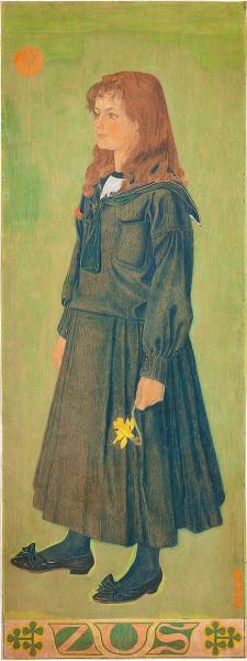 Jan Toorop - Sister Henny