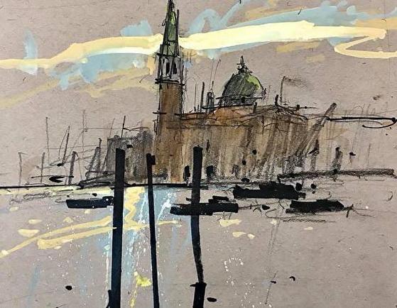 Tony Allain - Venice San Giorgio Maggiore