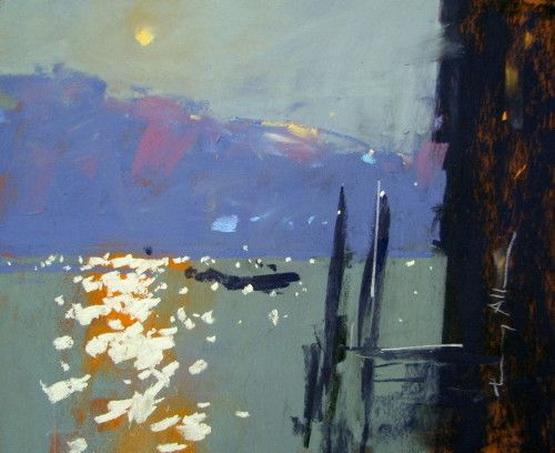 Tony Allain - Venice, Moonrise