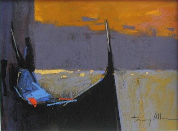 Tony Allain - Venice, Sunset