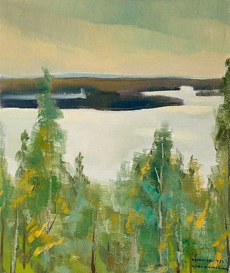 Eero Nelimarkka - VIEW OVER THE LAKE