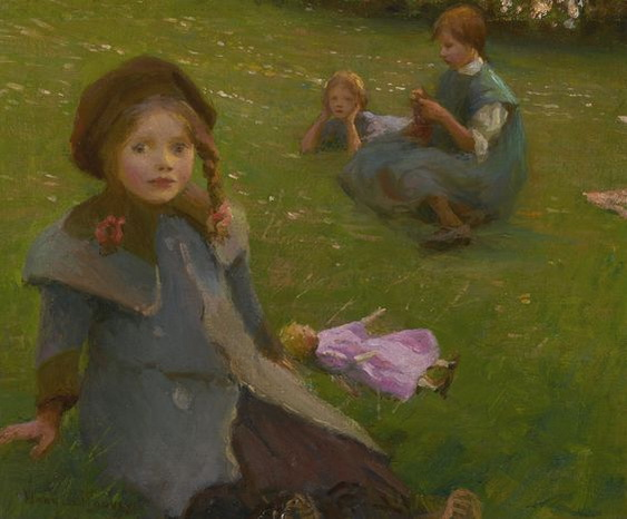 Harold Harvey - THE LILAC DOLL signed