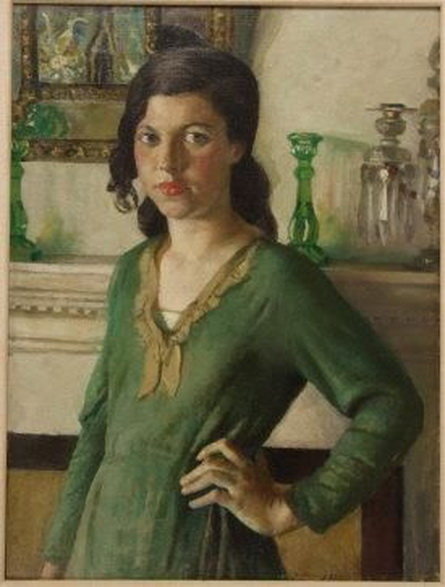 Harold Harvey - A Study in Greens