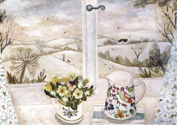 Sarah Bowman - The Dog Walker in the Snow
