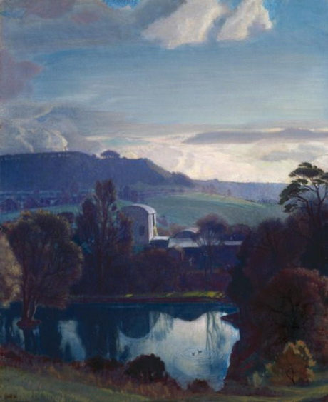 Charles March Gere - The Mill Pool at Painswick