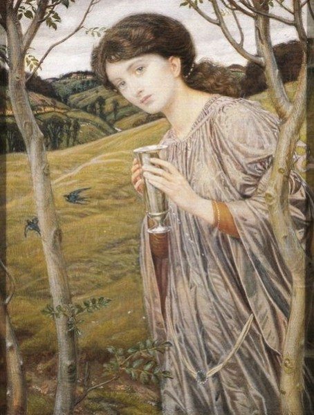 Charles March Gere - The Lady of Grey Days
