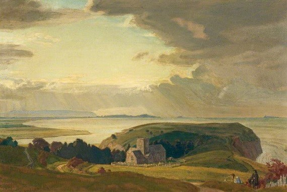 Charles March Gere - Tennyson at Clevedon