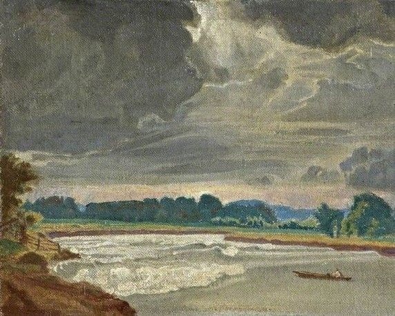 Charles March Gere - The Severn Bore