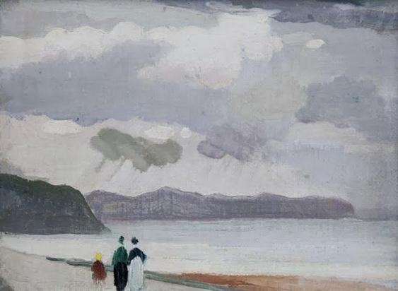 Adolphe Valette - Beach at Llandulas, North Wales