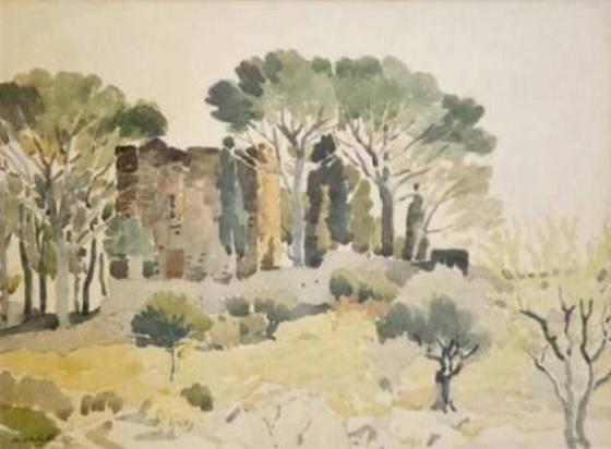 Adolphe Valette - Provence Alpes