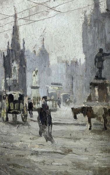 Adolphe Valette - Study for Albert Square
