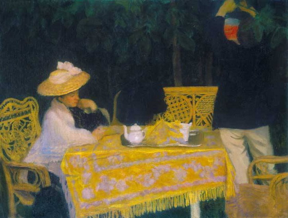 Karoly Ferenczy - Summer Evening