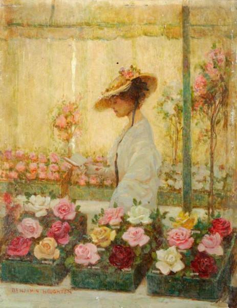 Benjamin Haughton - At the rose show