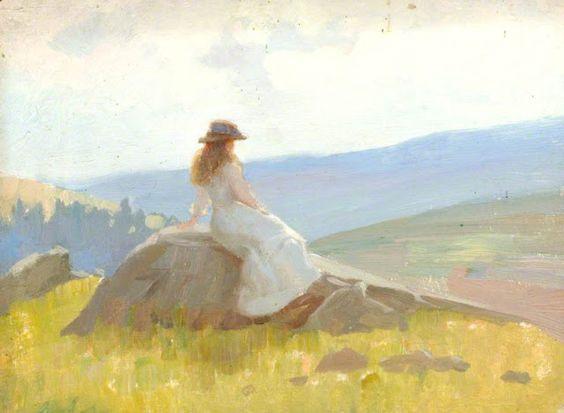 Benjamin Haughton -  Vosges landscape