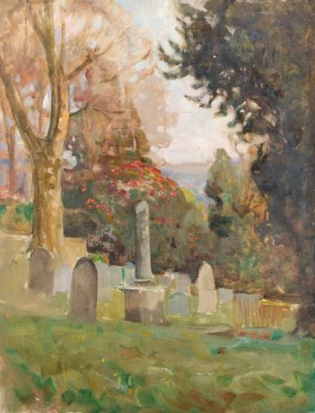 Benjamin Haughton - churchyard
