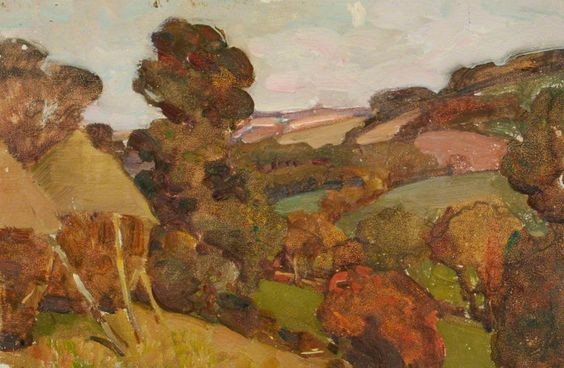 Benjamin Haughton - Hilly Countryside