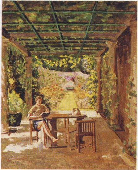 Winston Churchill - Randolph Churchill Reading