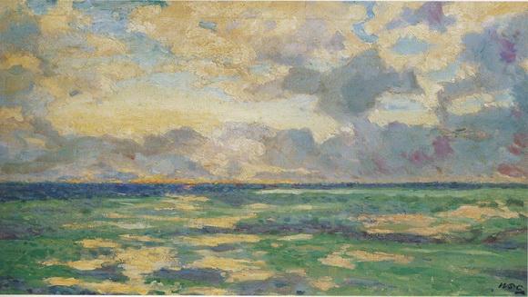 Winston Churchill - Daybreak at Cassis