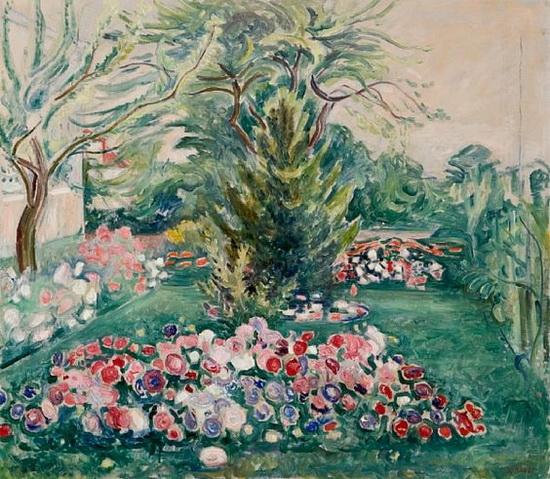 Arne Kavli - Blomstring i haven