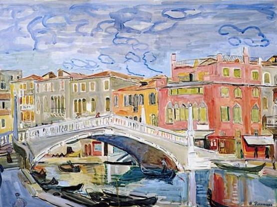 Hans Purrmann - Venice