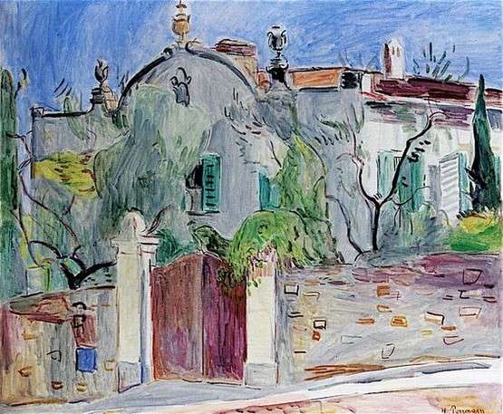 Hans Purrmann - Basque House in Florence