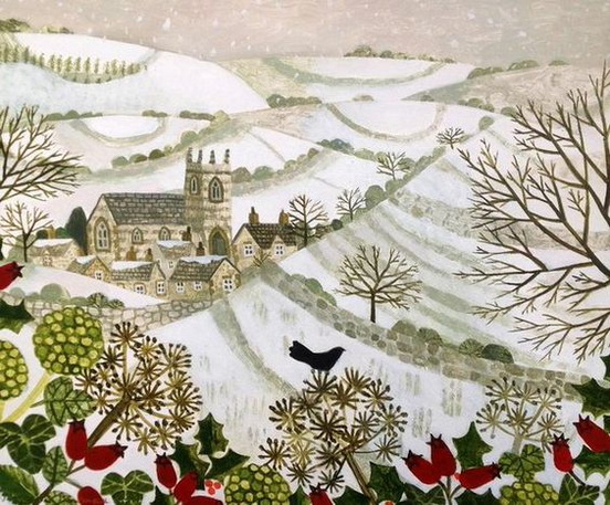 Vanessa Bowman - Church in the Valley, Winter