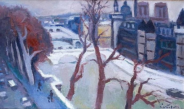 Robert Lotiron -  PARIS, LA SEINE
