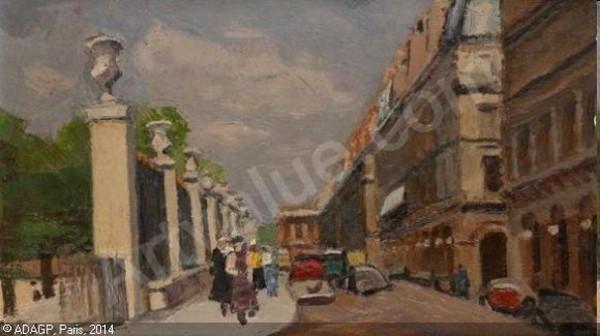Robert Lotiron -  Rue de Rivoli-