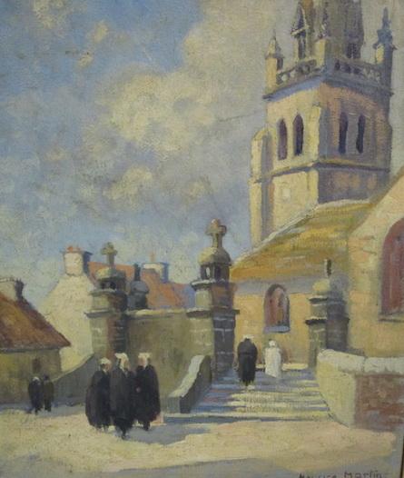 Maurice Martin - Eglise de Pleumeur