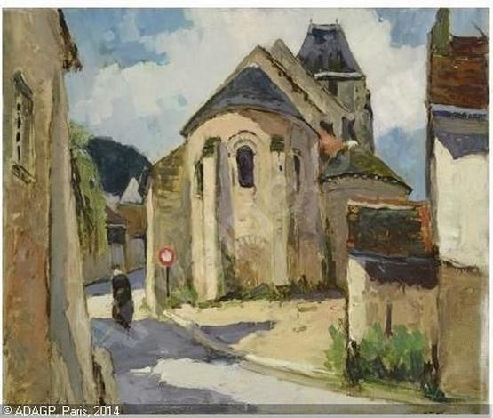 Maurice Martin -  Rue de village