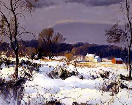 Harry Leith-Ross - Snowy Morning in Jericho
