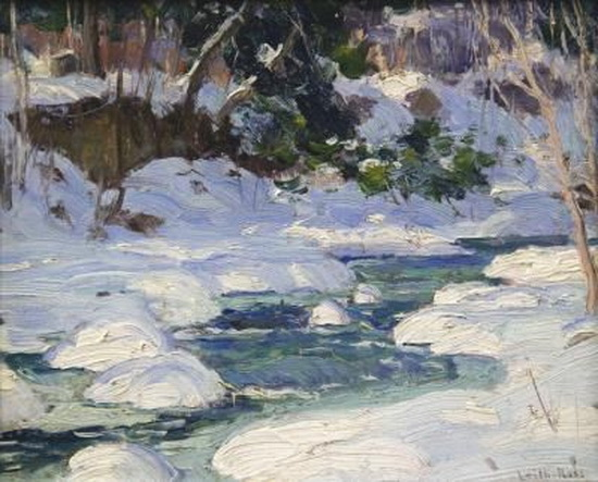 Harry Leith-Ross - Snow on the West Bank