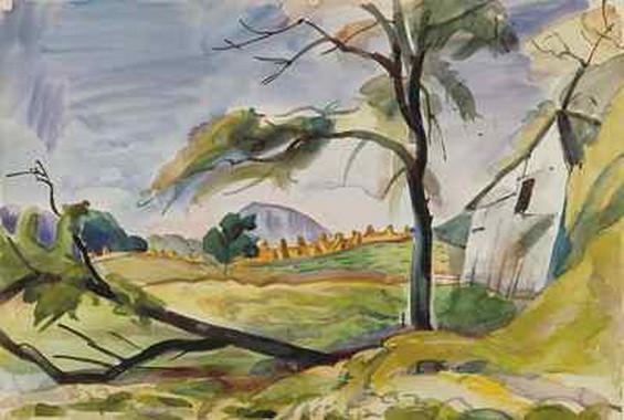 Pierre Daura - Autumn Fields