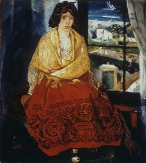 Pierre Daura - Louise in Asturian Costume