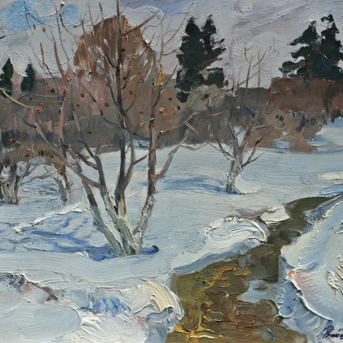 Вайшля Леонид - Яблоневый сад