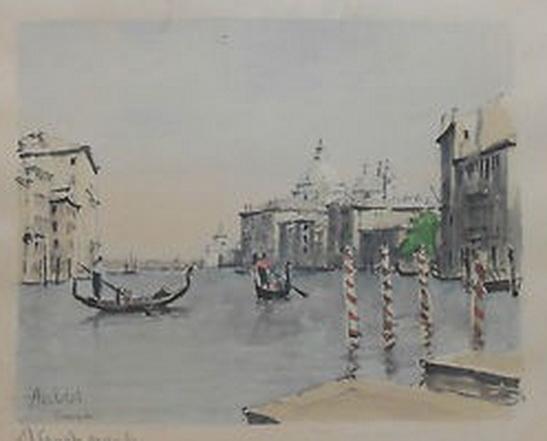 Franz Herbelot - Venice