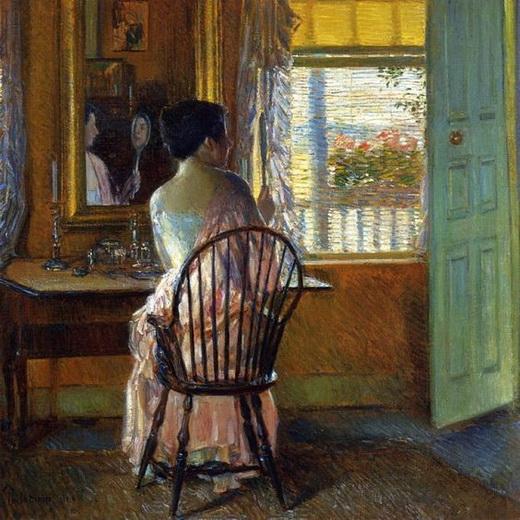 Childe Hassam - Morning Light