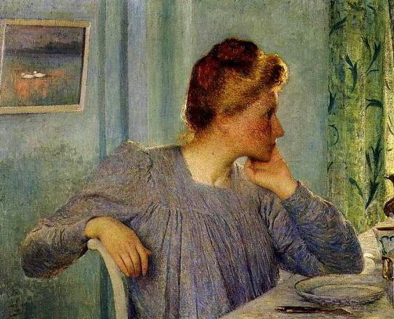 Emile Claus - Portrait de Madame Claus