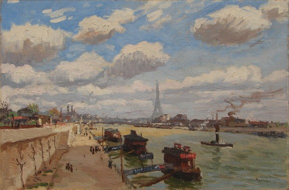 Jean Constant Raymond Renefer - Paris, le Point du Jour