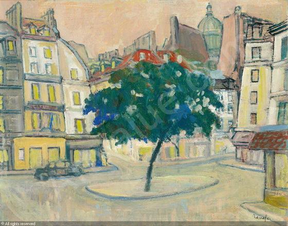 Jean Constant Raymond Renefer -  Place a Paris