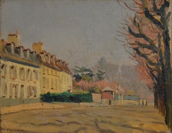 Jean Constant Raymond Renefer - landscape