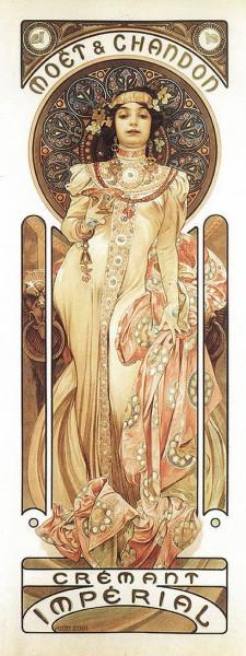 Alfons  Mucha -  La Belle Epoque