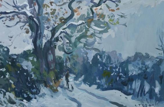 Andrew Tozer - Snowy Walk