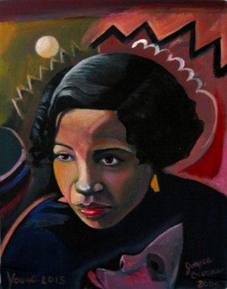 Lois Mailou Jones - Self-Portrait