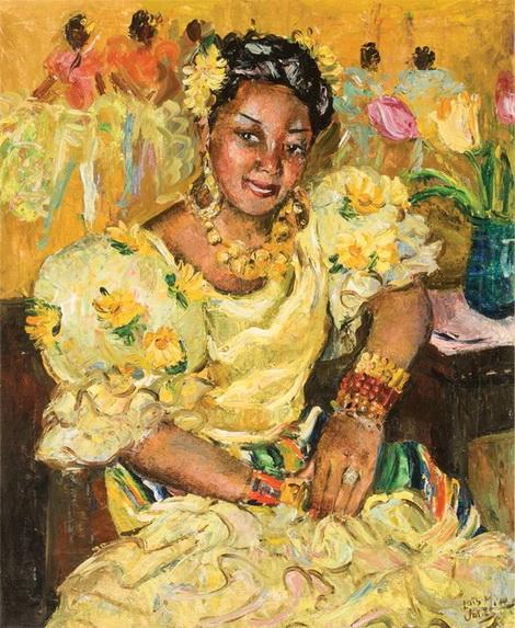 Lois Mailou Jones - Eusebia Cosme  1944